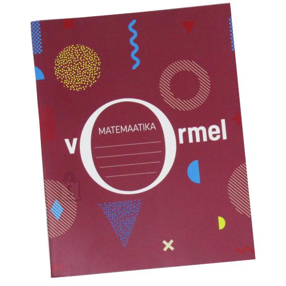 College Kaustik Disco Matemaatika valemitega A5/36L 5x5 ruut