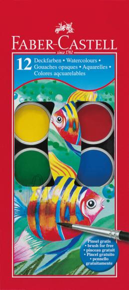 Faber-Castell Vesivärvid Faber-Castell 12-värvi