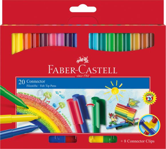 Faber-Castell Viltpliiatsid Faber-Castell 20-värvi