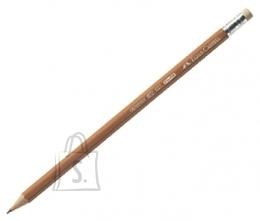Faber-Castell Harilik pliiats Faber-Castell 1117 HB kustukummiga, naturaalne