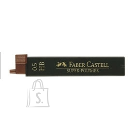 Faber-Castell Mehaanilise pliiatsi söed Faber-Castell Super-Polymer 0,5mm 2B (P)