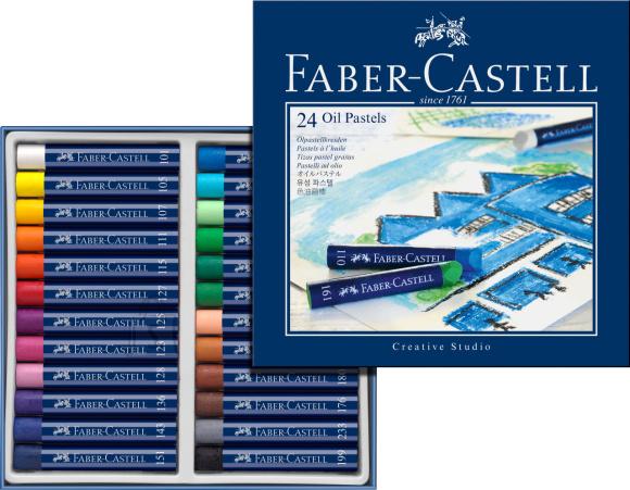 Faber-Castell Õlipastellid Faber-Castell Gofa Creative Studio 24-värvi