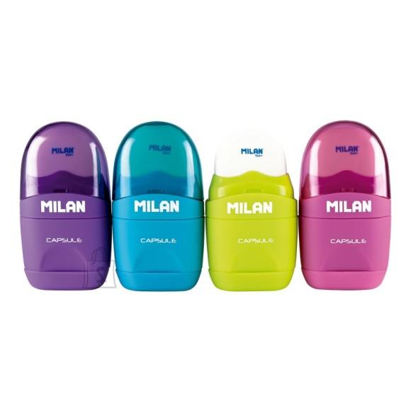 Milan Pliiatsiteritaja+kustukumm Milan Capsule
