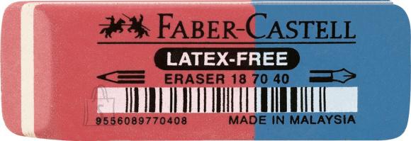 Faber-Castell Kustukumm Faber-Castell 7070-40, punane/sinine(P)