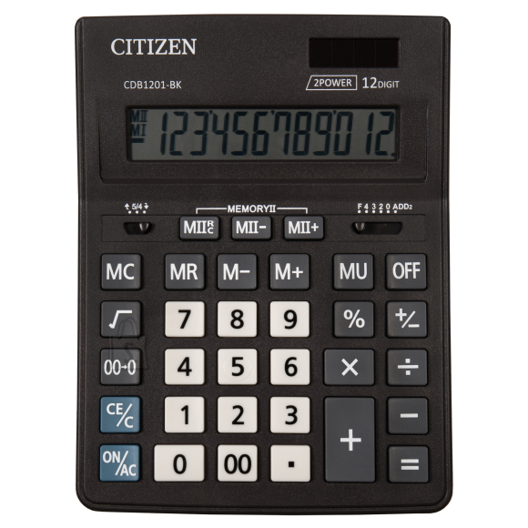 Citizen Lauakalkulaator Citizen Business line CDB1201BK