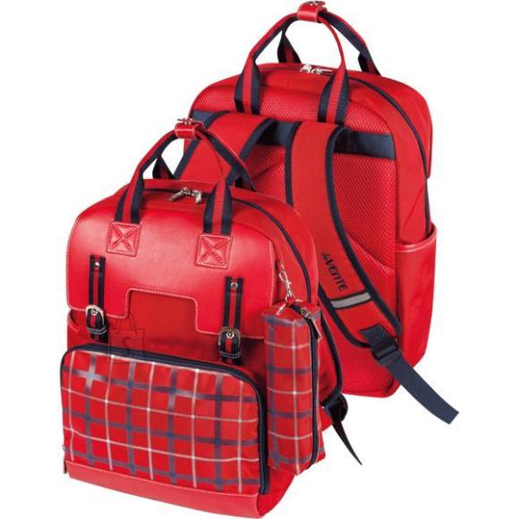 *Koolikott deVENTE Imperial Club 38x29x14cm, tekstiil, punane