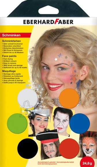 Näovärvid EberhardFaber Musical 6-värvi