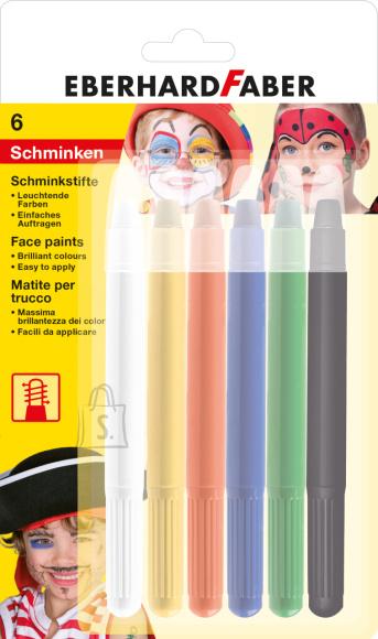 Näovärvid EberhardFaber 6-värvi