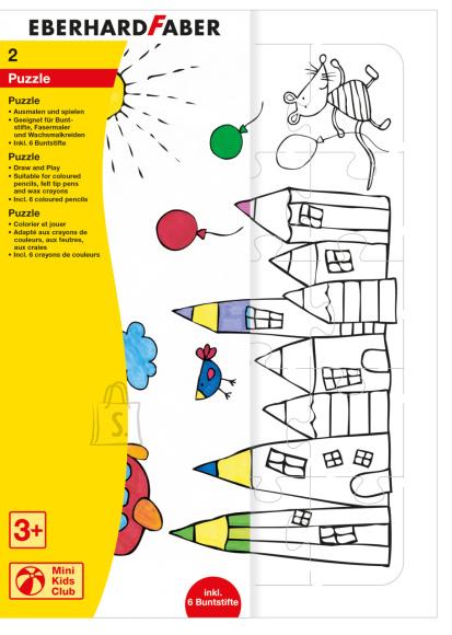 Puzzle EberhardFaber pliiatsitega