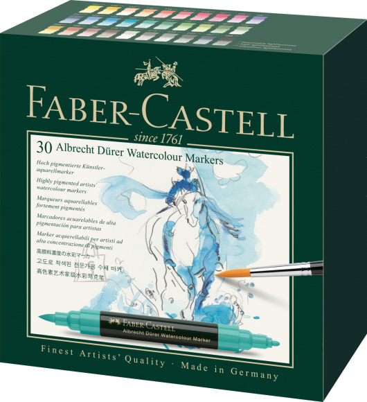 Faber-Castell Akvarellimarker Faber-Castell Abrecht Dürer 30-värvi