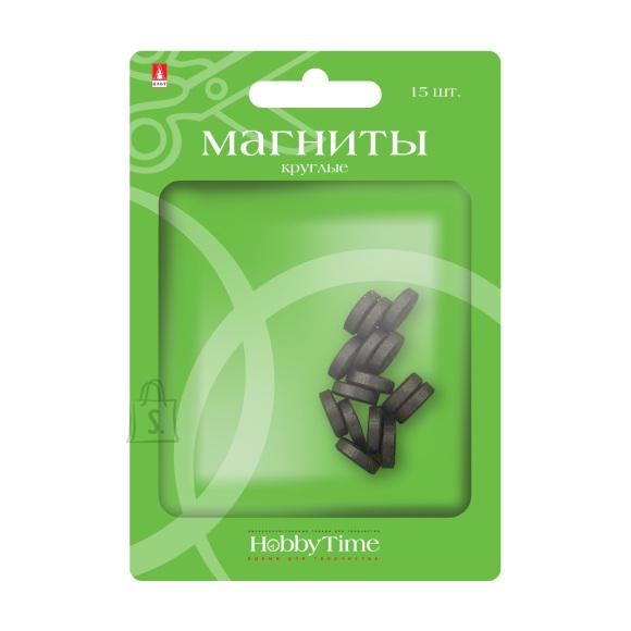 Magnetid HobbyTime ümarad 10x3mm, 15tk