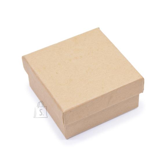 Kartongist karp dekoreerimiseks 7x7x3,5 см