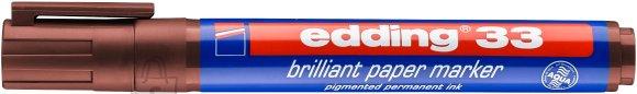 edding Paberimarker edding 33 pruun, 1-5mm