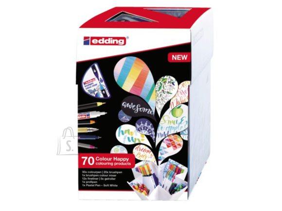 edding Kinkekomplekt Edding Colour Happy 69+1