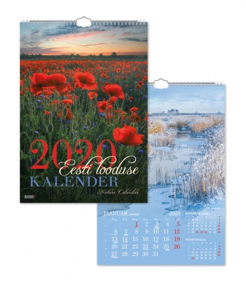 Seinakalender Timer Eesti looduse kalender 2911415000