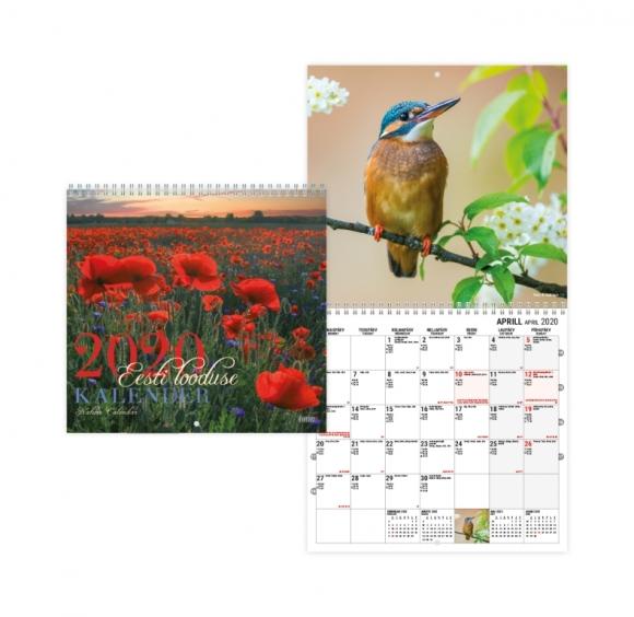 Seinakalender Eesti Looduse kalender ruut 2911417000