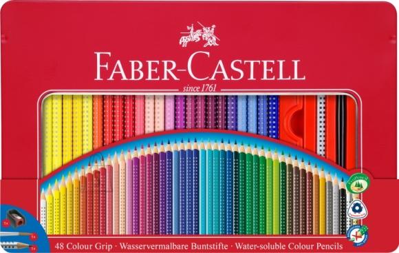 Faber-Castell Värvipliiats Faber-Castell Grip 48-värvi metallkarbis (P)