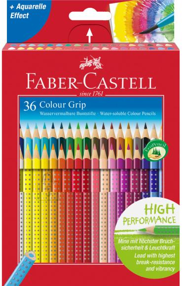 Faber-Castell Värvipliiatsid Faber-Castell Colour Grip 36-värvi