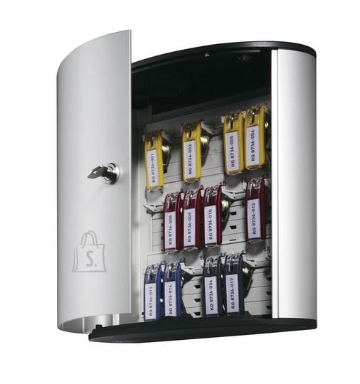 Durable Võtmekapp Durable 18-le võtmele, hõbehall (P)
