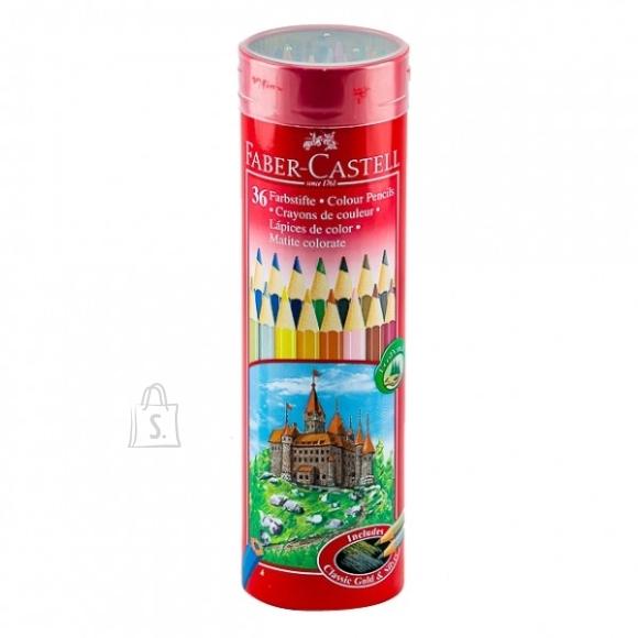 Faber-Castell *Värvipliiatsid Faber-Castell metallvutlaris 36 värvi (P)
