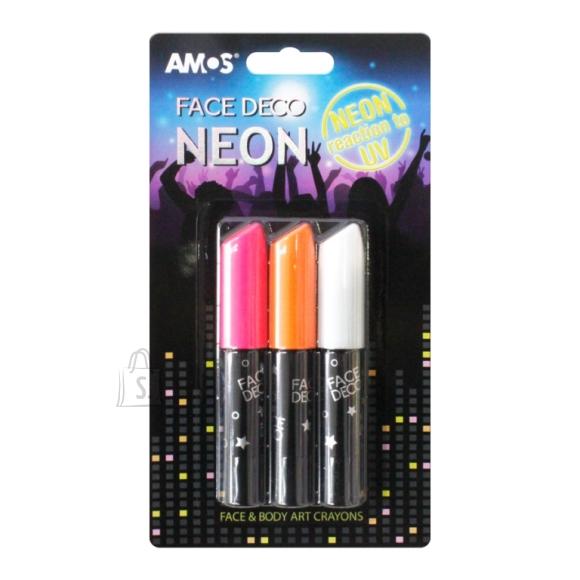 Amos Näovärvid Amos 3-värvi neoon