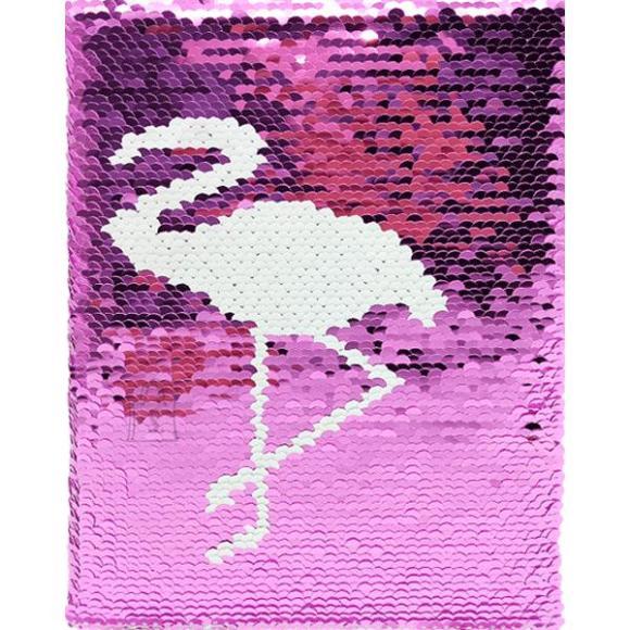 *Märkmik deVente A5/160L Flamingo, 5x5 ruut, kõvakaas