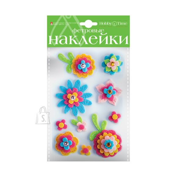 Vildist dekoratiivkleepsud HobbyTime Komplekt nr 4 Suvised lilled 3 valikut