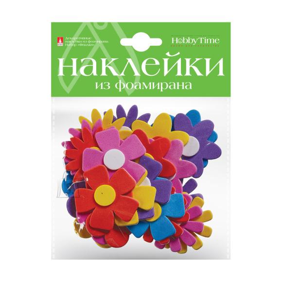 Dekoratiivsed kleepsud HobbyTime foam-vahust Nr16 violetsed