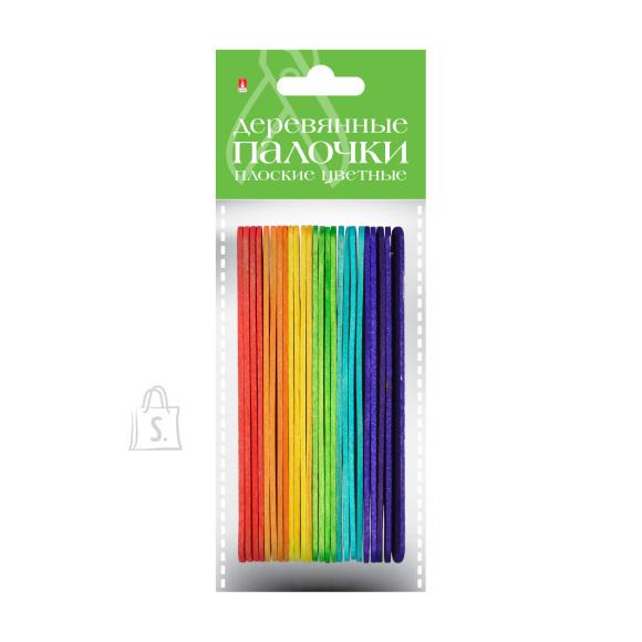 Puidust pulgad HobbyTime 12.5cm 25tk/pk värvilised