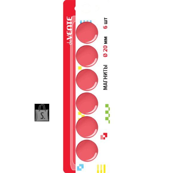Tahvlimagnet deVENTE punane 20mm 6tk/pk