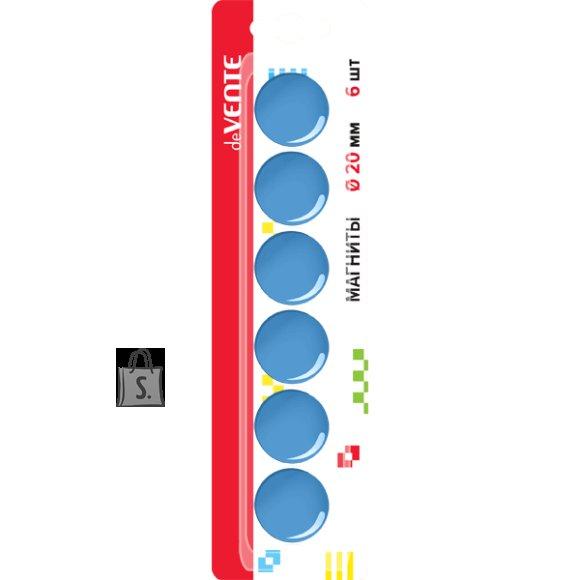 Tahvlimagnet deVENTE sinine 20mm 6tk/pk