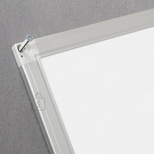 Valge magnettahvel 2x3 EcoBoards 40x60cm, alumiiniumraamiga