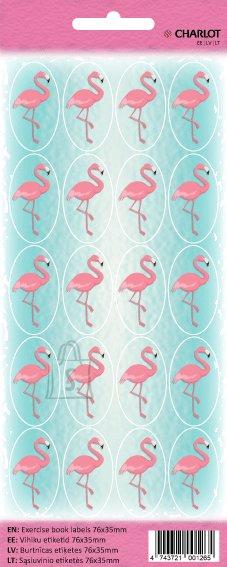 Kleebis Charlot 20mm 20tk/lehel Flamingo