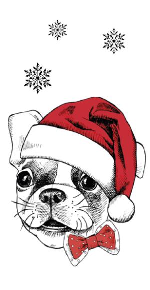 Õnnitluskaart Bulldog