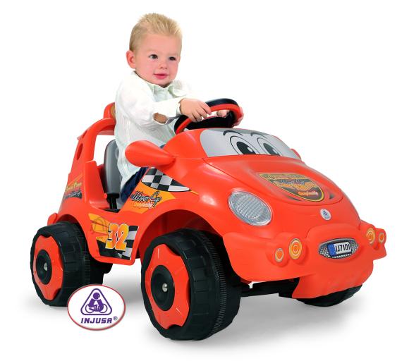 Injusa elektriauto Racing Car lastele