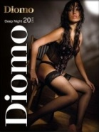 Diomo DEEP NIGHT 20 8cm lace stockings