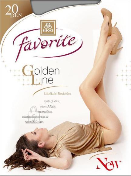 Favorite sukkpüksid Golden Line 20 DEN