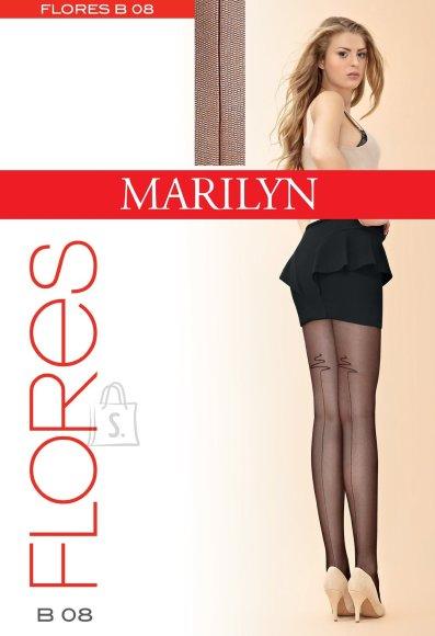 Marilyn 20 DEN mustriga sukkpüksid Flores
