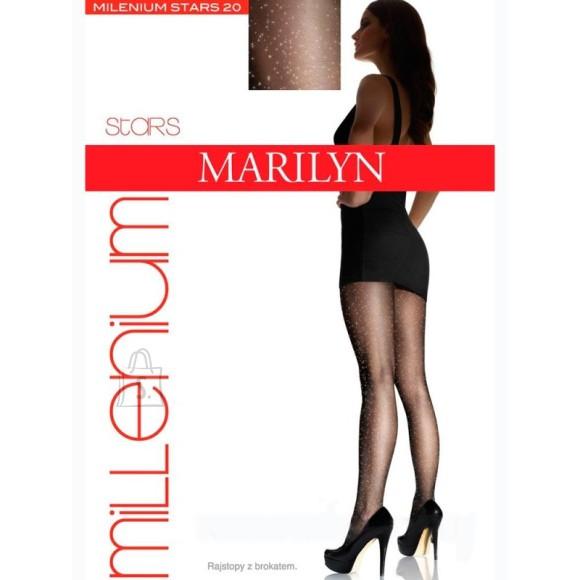 Marilyn Millenium Stars sädelusega sukkpüksid 20 DEN