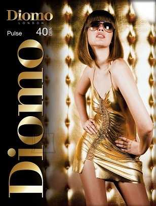 Diomo Pulse 40 den tights, reinforced top