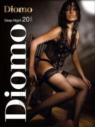 Diomo DEEP NIGHT 20 8cm lace stockings