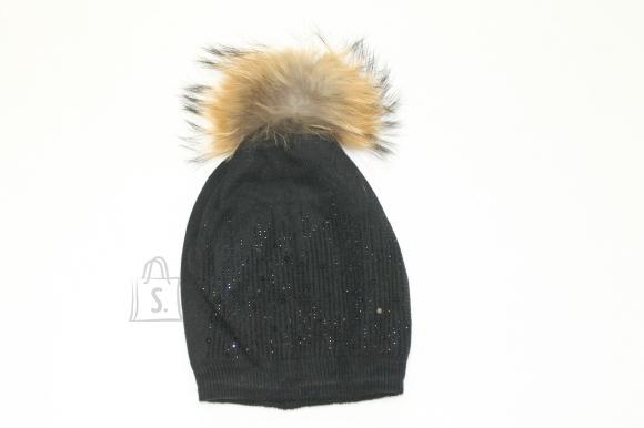 Naturaalse tutiga müts