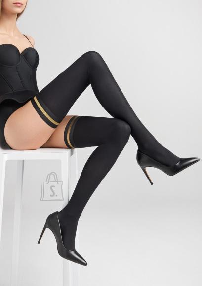 Marilyn 40 DEN sukad Coco 3D silikooniga