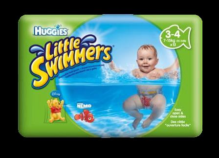 Huggies püksmähkmed Little Swimmers (3-4) 7-15kg