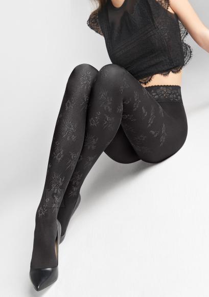 Marilyn Emmy sukkpüksid 60 DEN pitsi ja silikooniga
