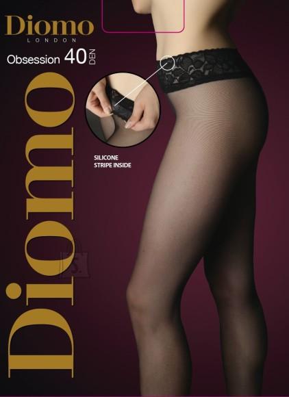 Diomo 40 DEN sukkpüksid pitsi ja silikooniga
