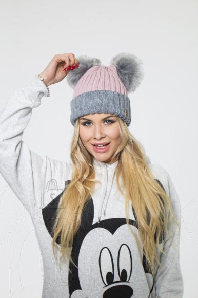 Woolk kahe tutiga müts