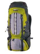 High Peak Seljakott Sherpa 55+10, tumehall/hall/roheline