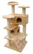 Duvo+ kassi kraapimispost New York 50x50x130 cm