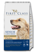 First Class Koeratoit Senior Large Breed Chicken 12kg